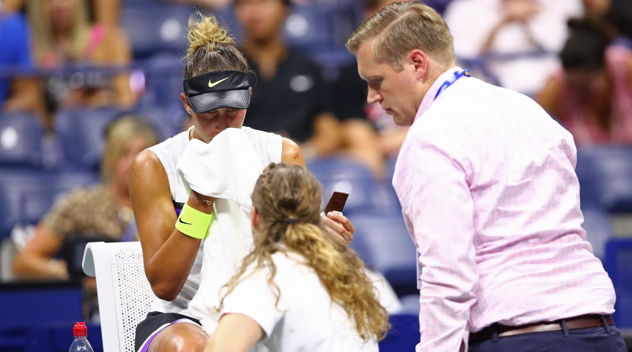 Madison Keys Persists After Medical Check, Beats Sofia Kenin to Move on at US Open