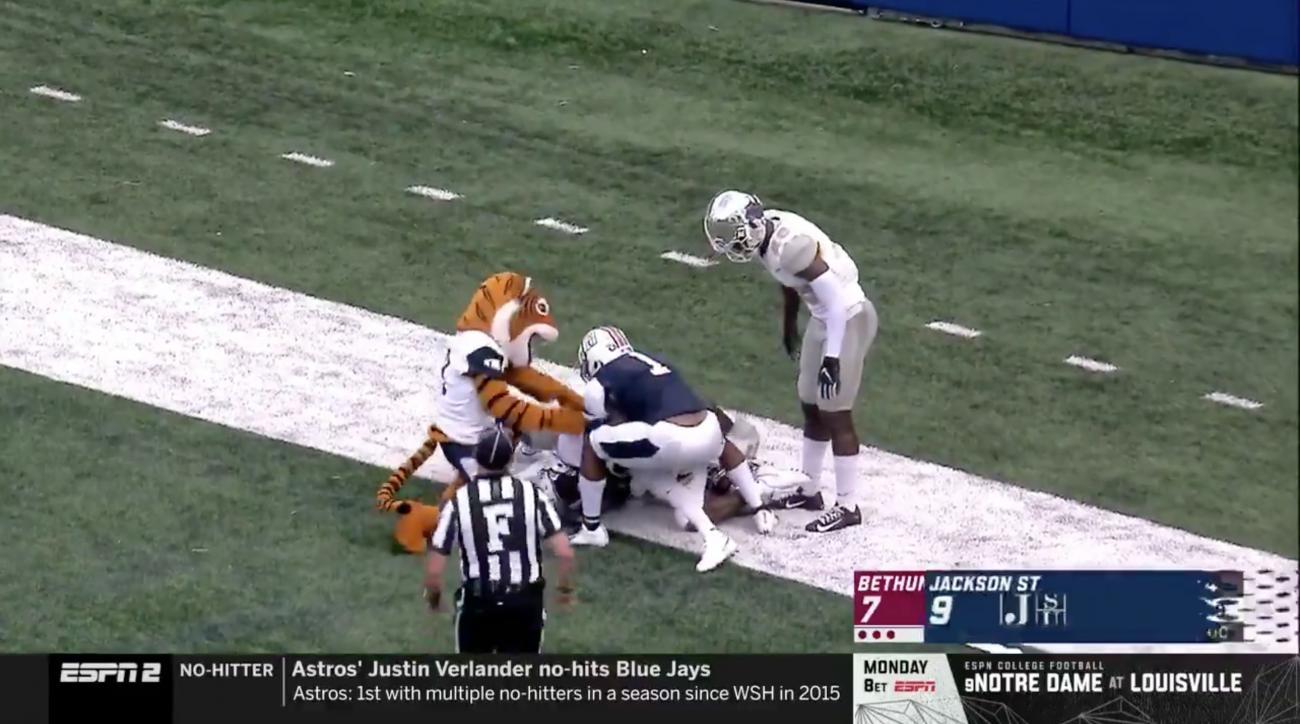 Jackson State mascot penalty