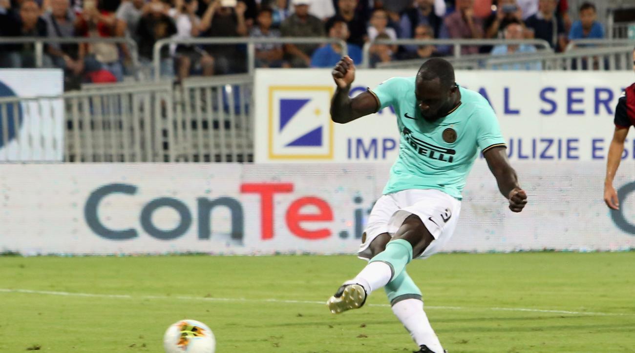 Lukaku Racially Abused By Cagliari Fans, Scores Winner on PK