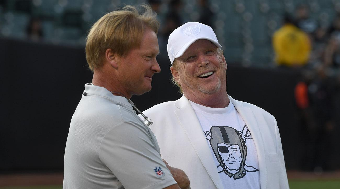 Ex-Raiders Coach Jack Del Rio: Davis Was Clear He Would Rehire Jon Gruden If Possible