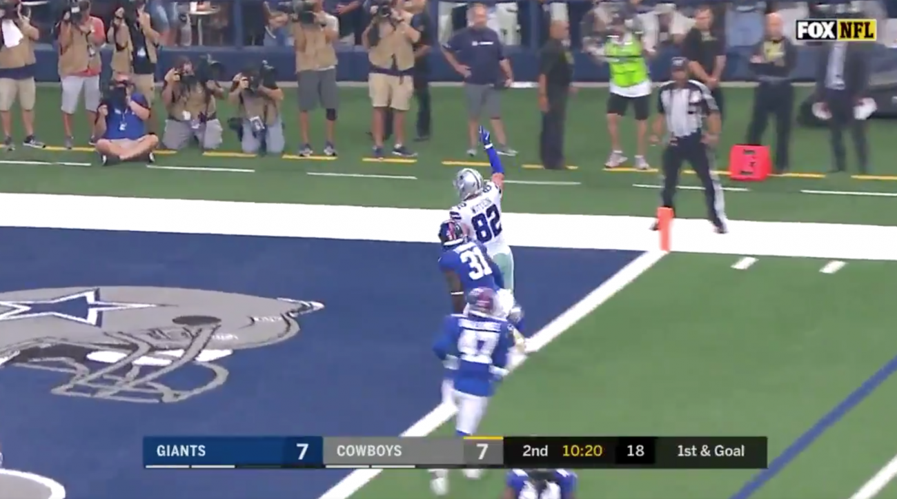 Jason Witten Scores First Touchdown With Cowboys Since Coming Out of Retirement