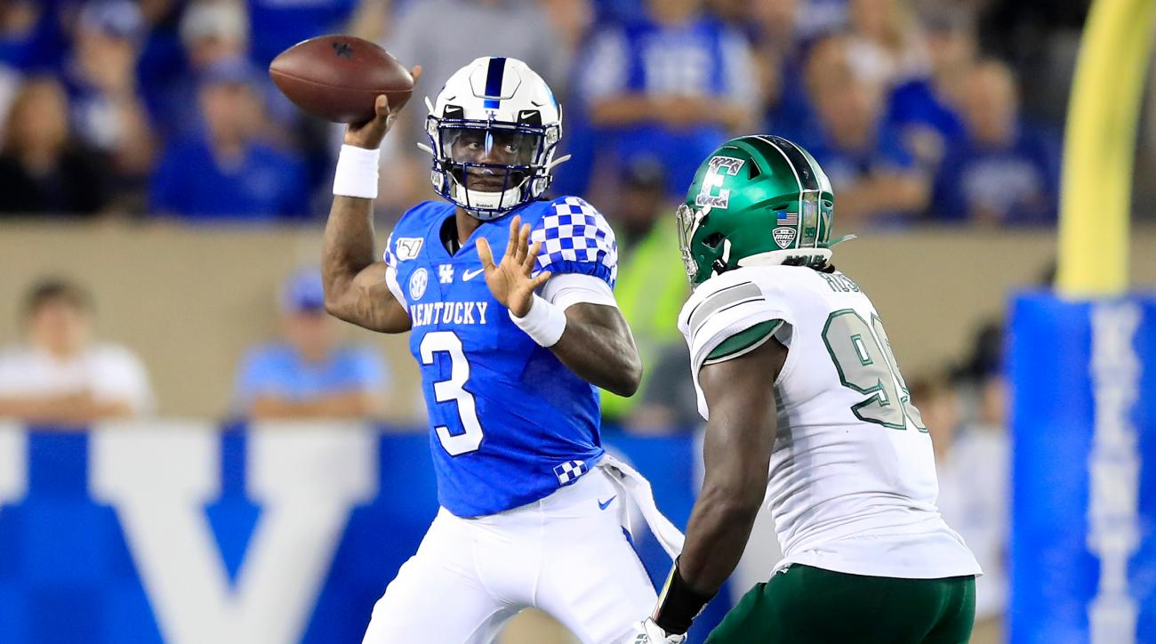 Kentucky QB Terry Wilson Out for Season With Knee Injury