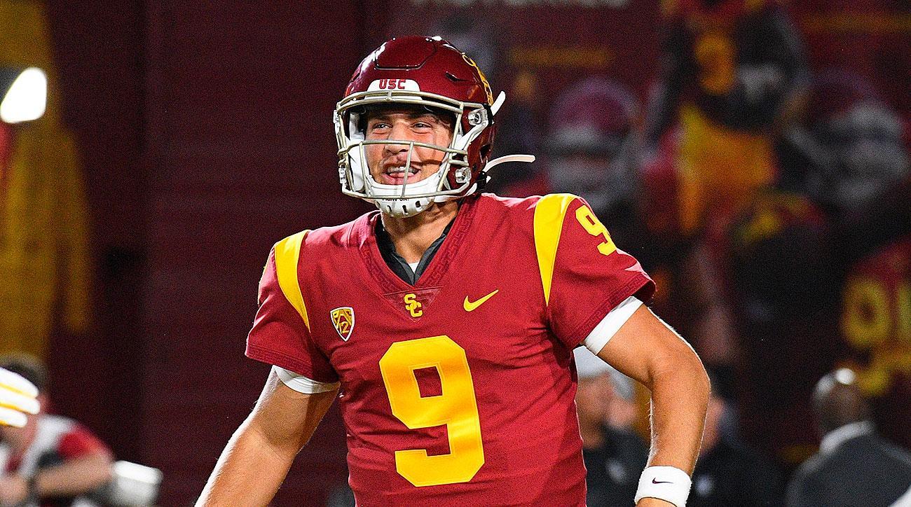 USC football vs Stanford Kedon Slovis