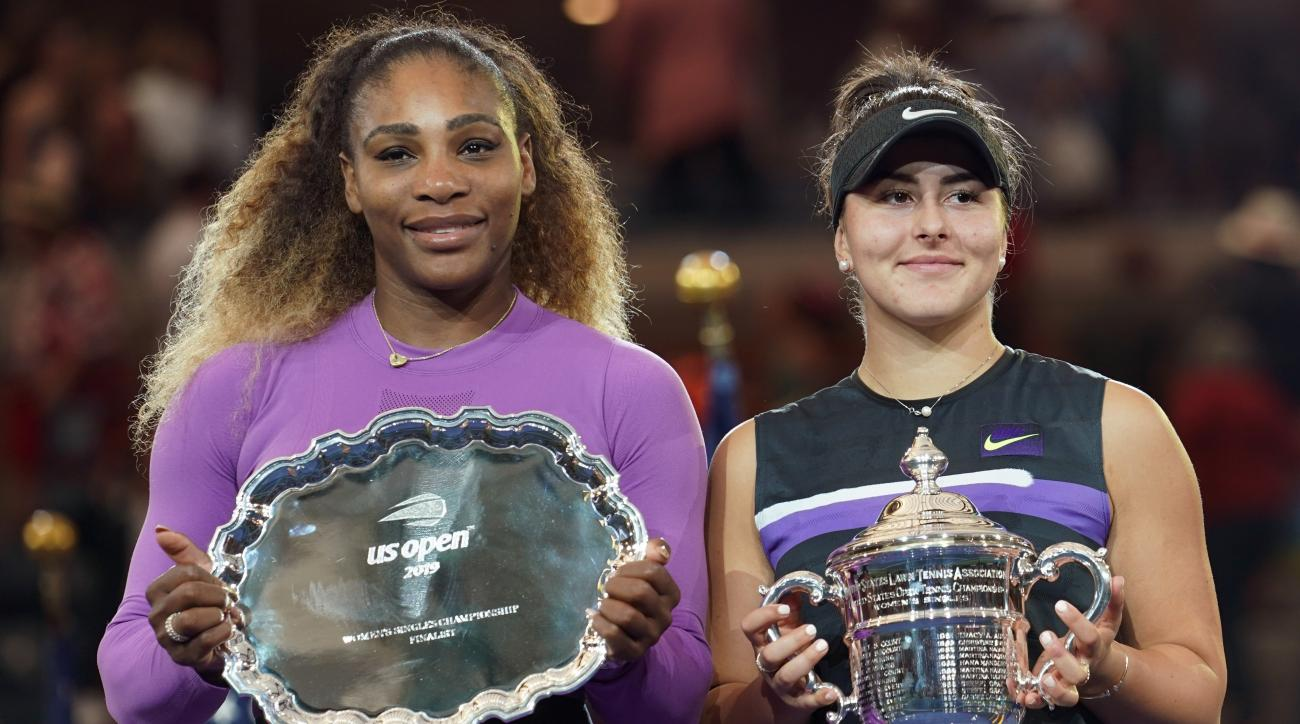 Bianca Andreescu Serena Williams