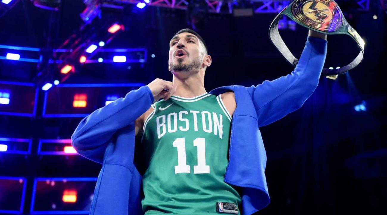 Tuesday's Hot Clicks: Enes Kanter Held a WWE Championship for 22 Seconds