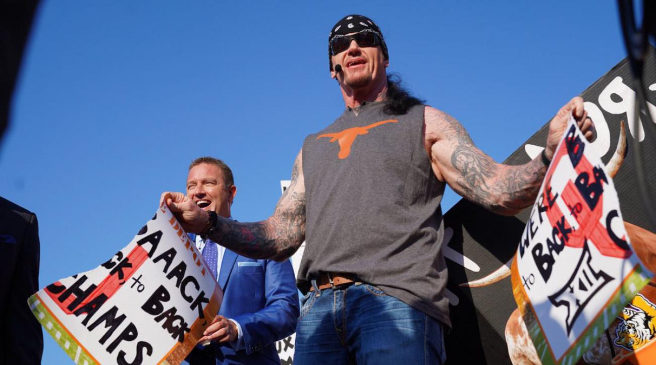 WWE news: Behind Undertaker's ESPN College Gameday appearance