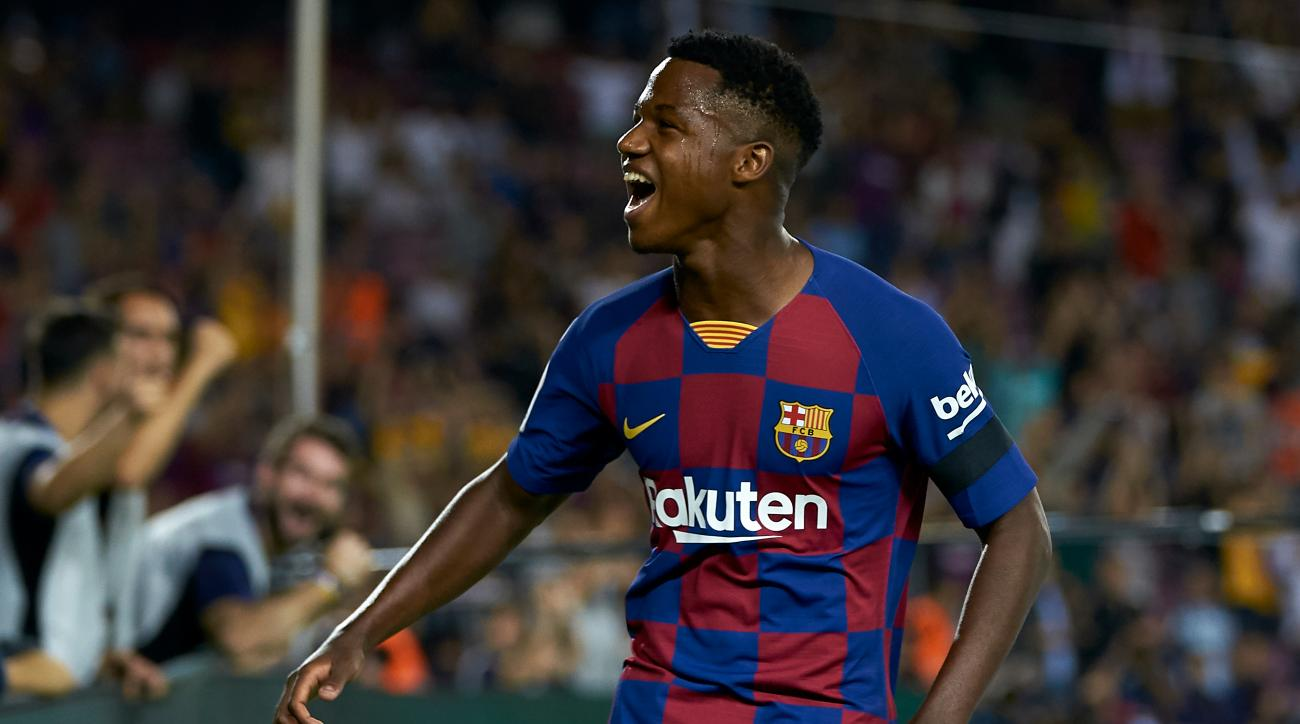 16-Year-Old Ansu Fati Shines in First Start With Barcelona
