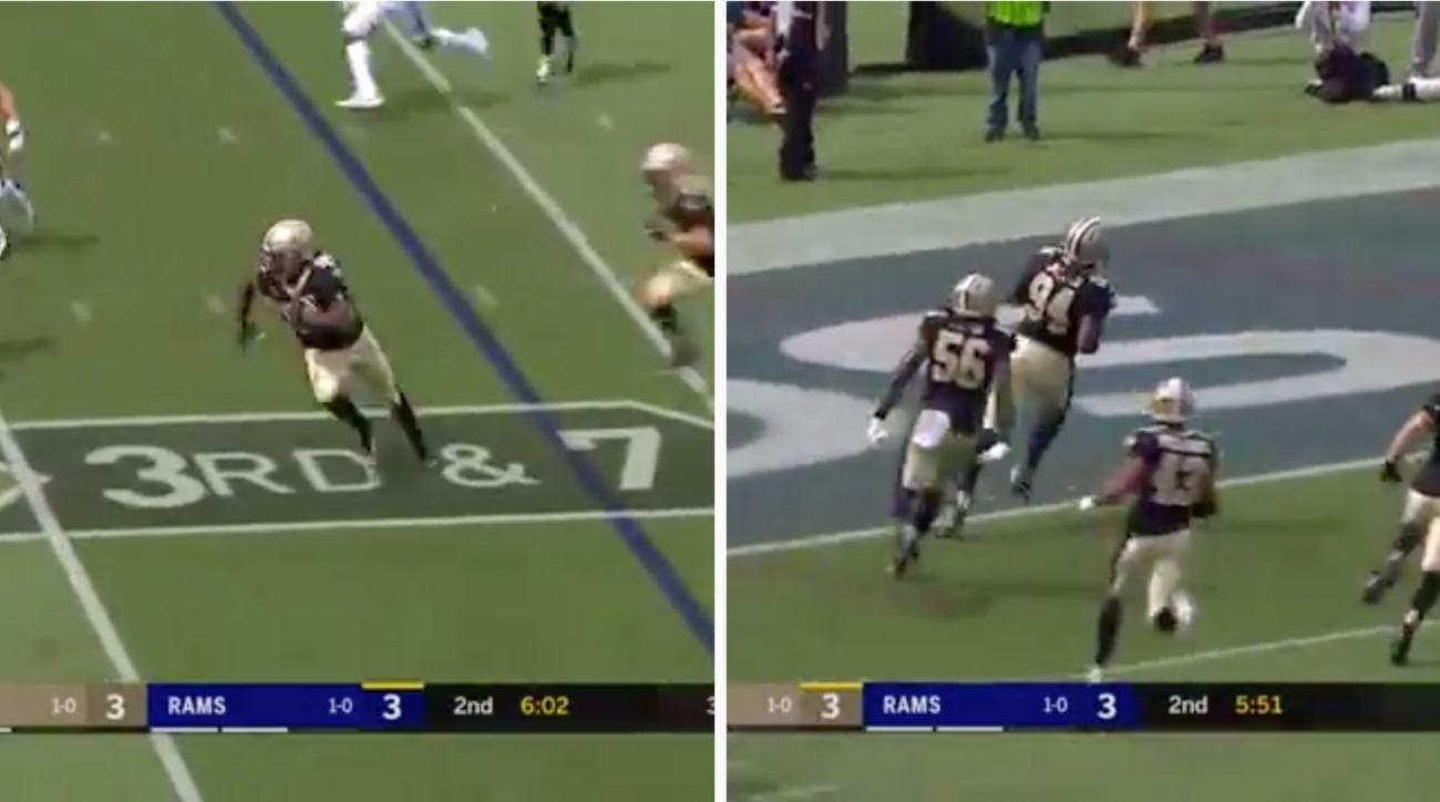 Cameron Jordan touchdown doesn't count