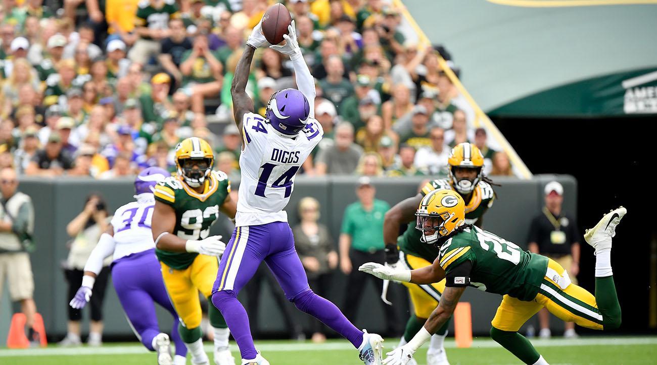 Stefon Diggs has TD reversed Vikings Packers