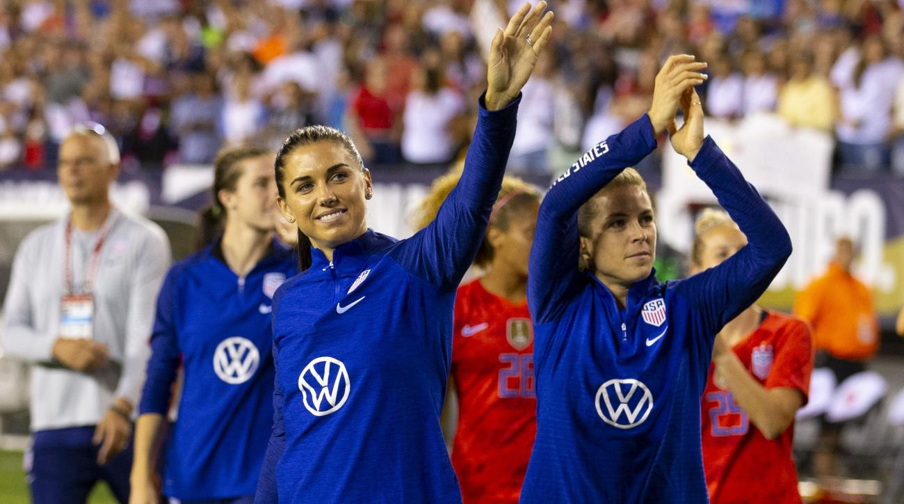 Alex Morgan Out for Orlando Pride for Remainder of NWSL Season With Knee Injury