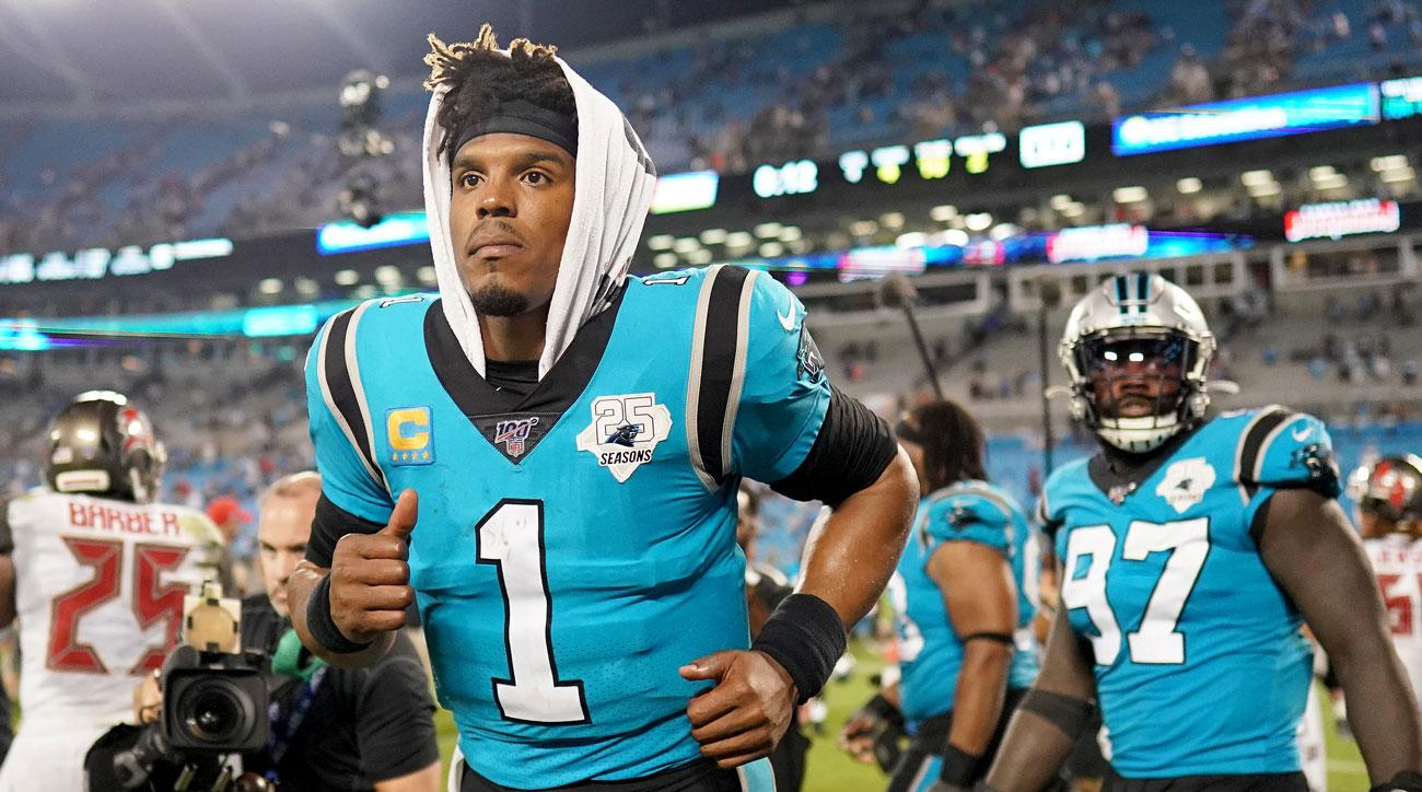 big sale 0c661 a8fb7 Cam Newton injury: Panthers QB reaggravated left foot ...