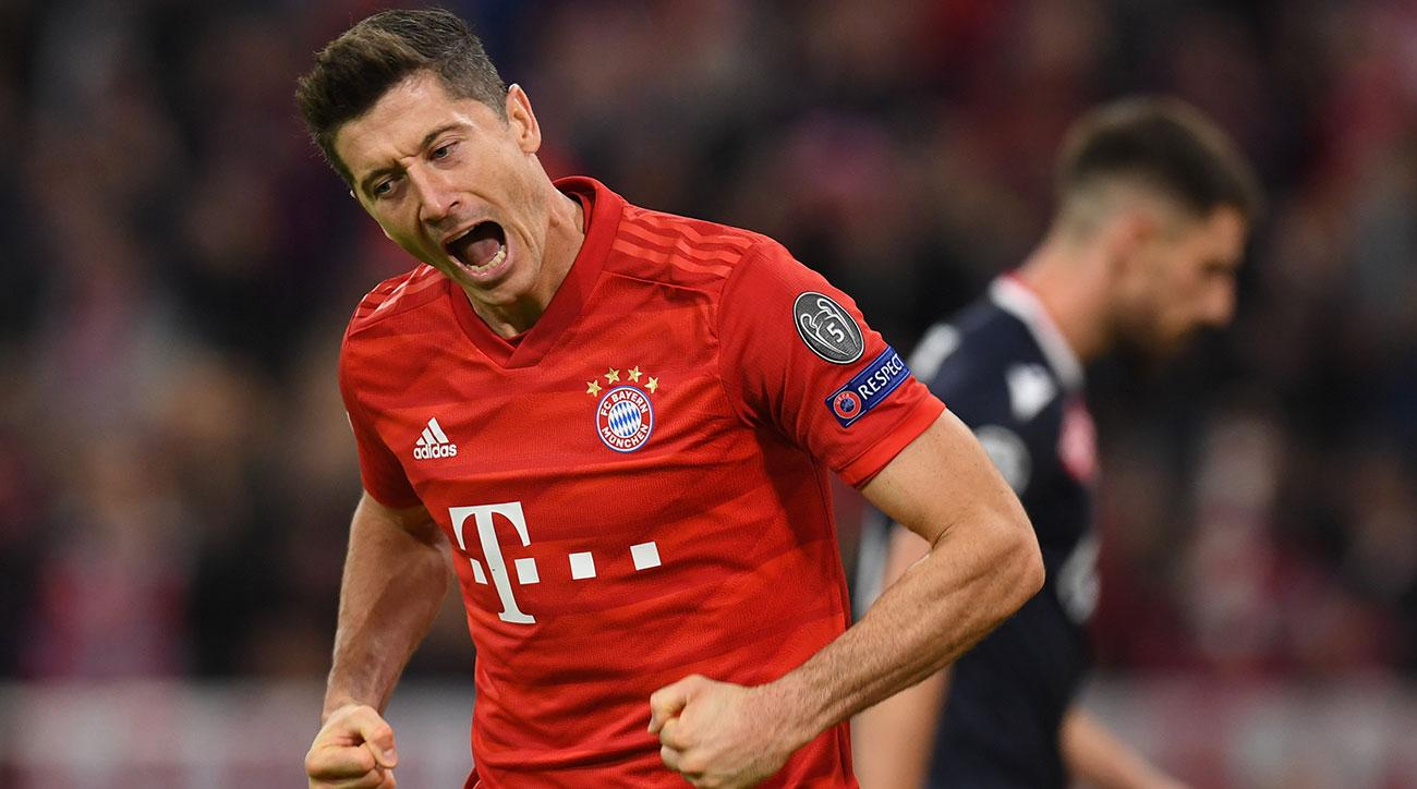 Bayern Pads Lead Late to Beat Red Star in Champions League Opener