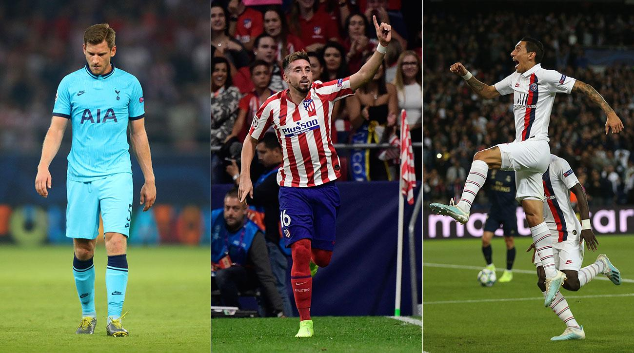 Tottenham blew a lead, Atletico Madrid battled for a draw and PSG beat Real Madrid in Champions League