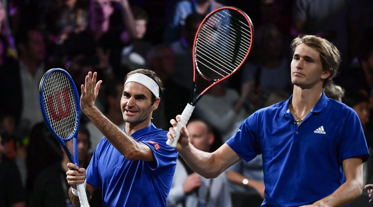 Roger Federer Alexander Zverev