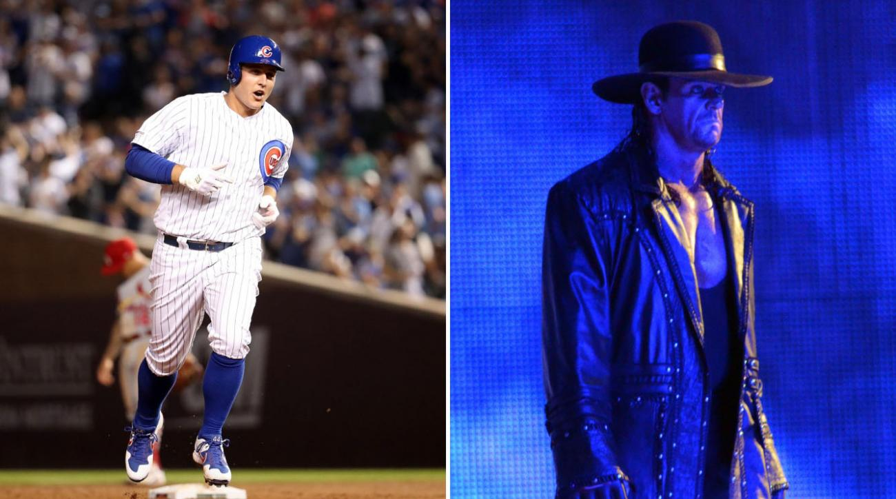 Anthony Rizzo returns using Undertaker's music vs Cardinals (video)