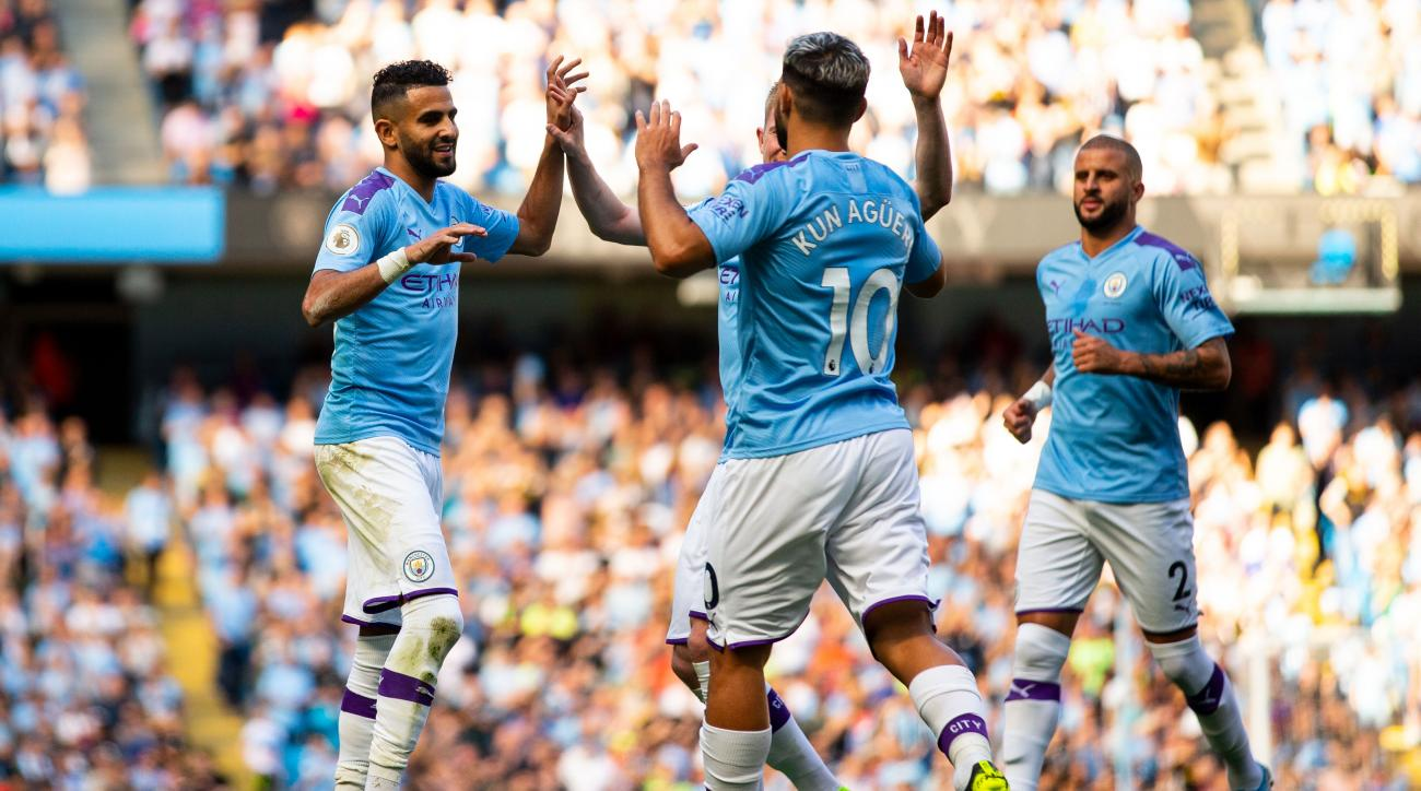 Man City Falls One Goal Short of EPL History in Watford Rout