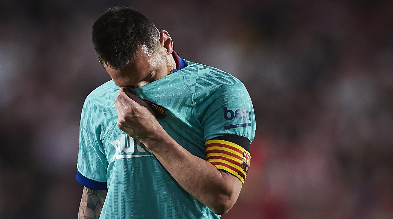 Barca Loses Again, Despite Messi's Return, to Cement Worst Start to League in 25 Years