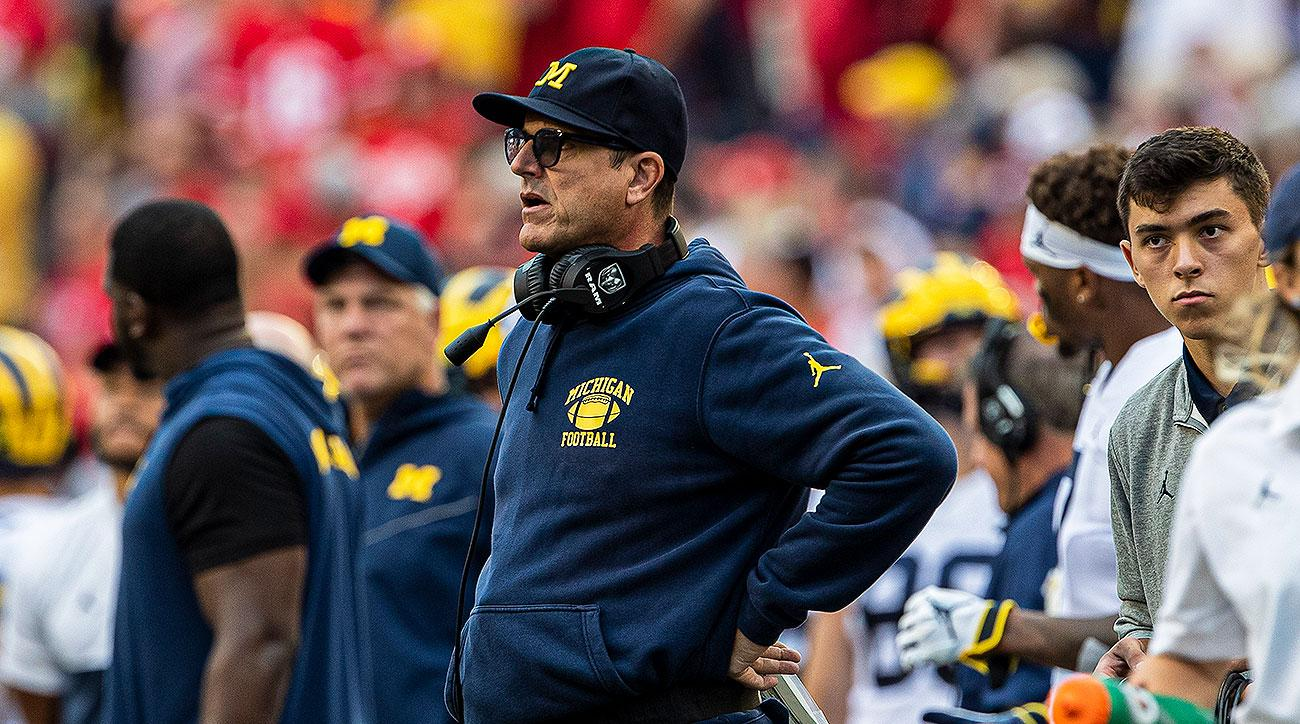 Michigan vs Wisconisn Jim Harbaugh Josh Gattis offense Shea Patterson