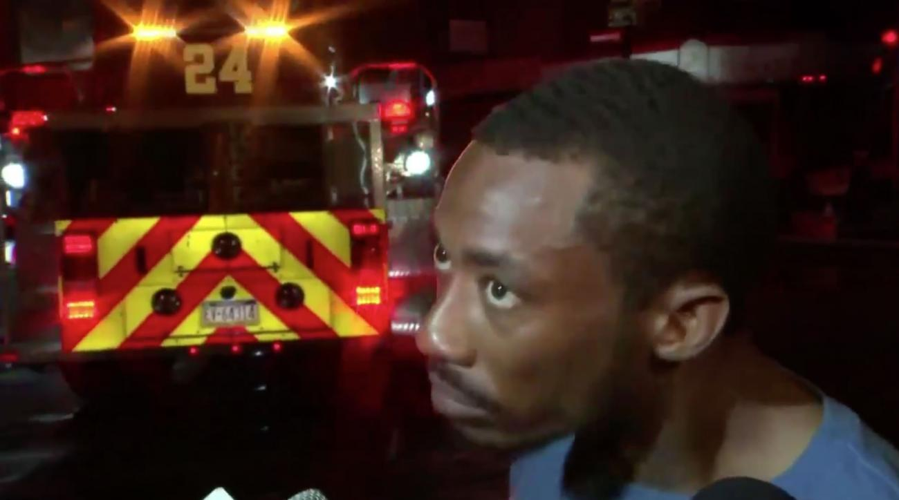 Nelson Agholor Savagely Roasted By Man Who Saved Babies From Fire