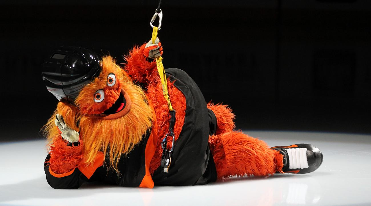 nhl, gritty, national Gritty day, wire, philadelphia flyers