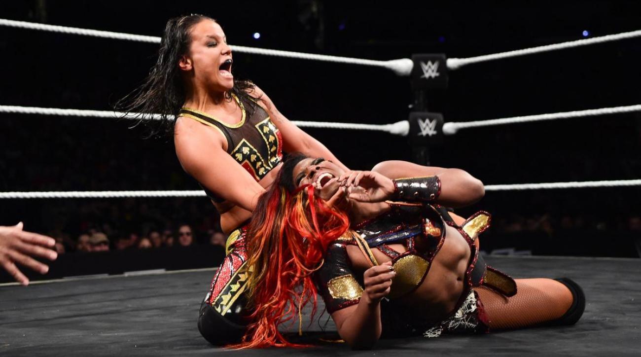 Shayna Baszler: WWE NXT star on working MMA style of wrestling