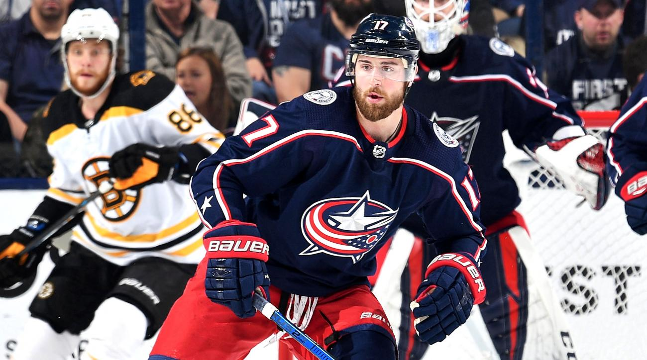 Boston Bruins v Columbus Blue Jackets - Game Four