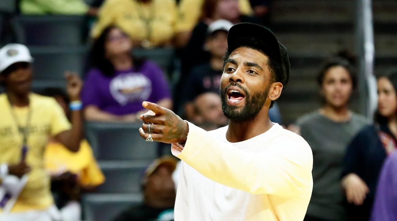 Kyrie Irving Suffers Left Side Facial Fracture, Listed as Day-to-Day