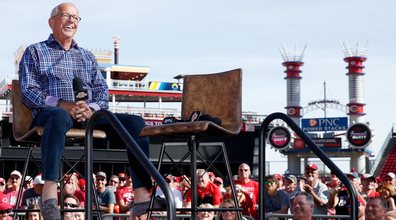 Hall of Fame Reds Broadcaster Marty Brennaman Calls Final Game