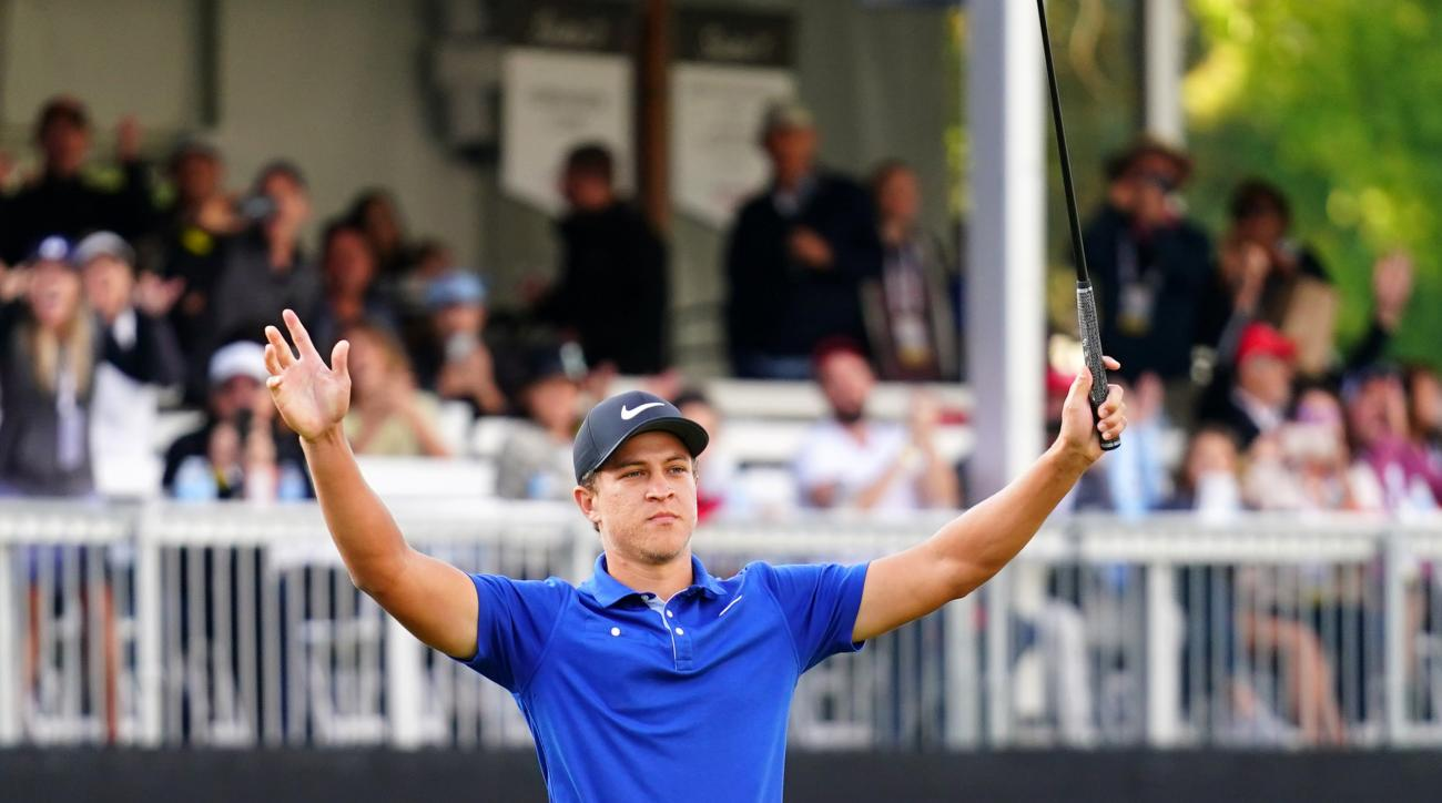 Emotional Cameron Champ Hangs on to Win Safeway Open