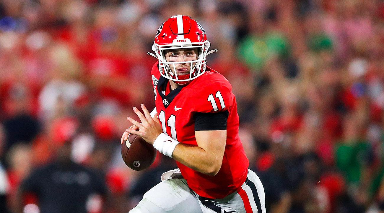 Georgia football Jake Fromm undefeated teams NCAA