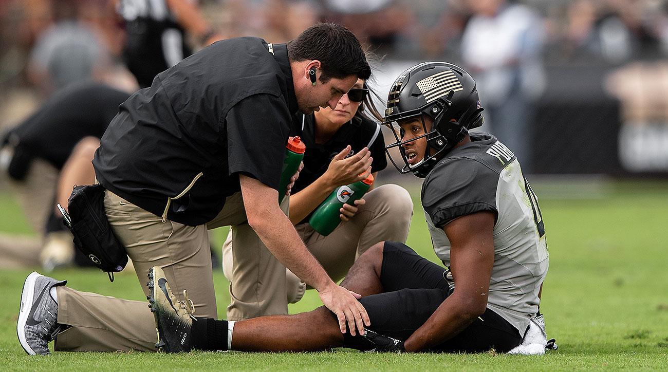 Purdue football Rondale Moore injury