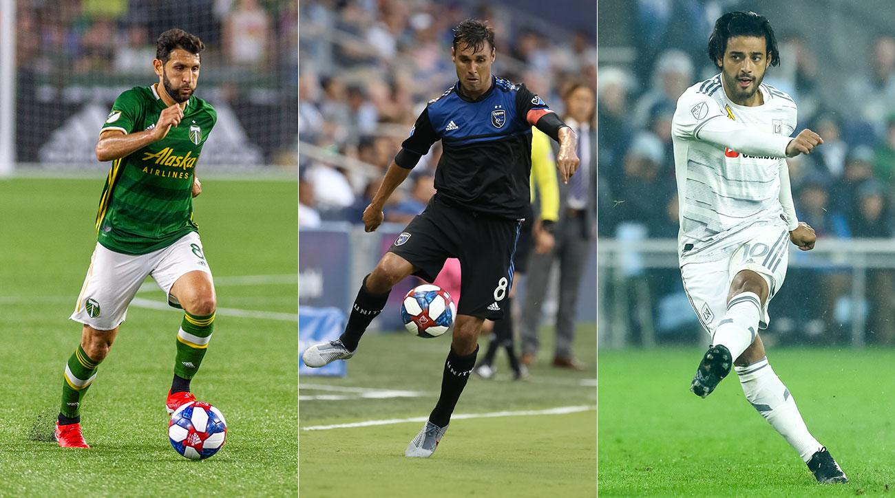 Diego Valeri, Chris Wondolowski and Carlos Vela all have something to play for on MLS Decision Day