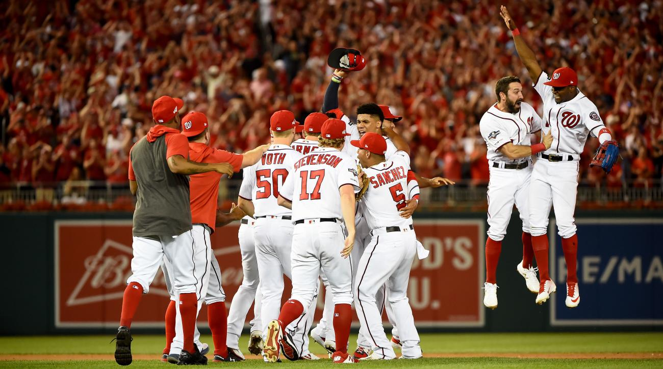 Nationals Stun Brewers With Eighth-Inning Rally to Advance to NLDS