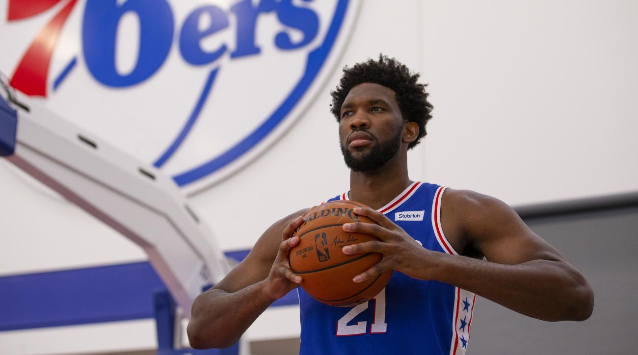 Sixers' Joel Embiid loses weight by doing nothing differently