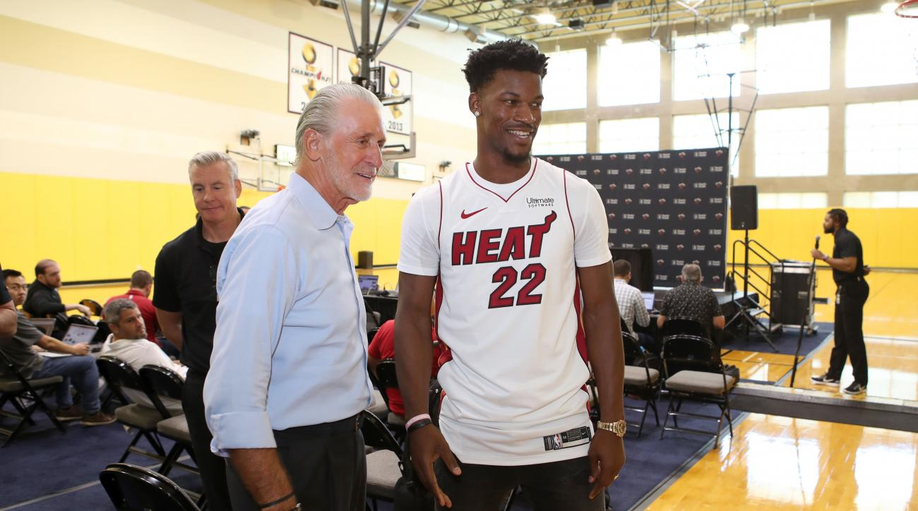 Jimmy Butler showed up 6.5 hours early to Heat practice