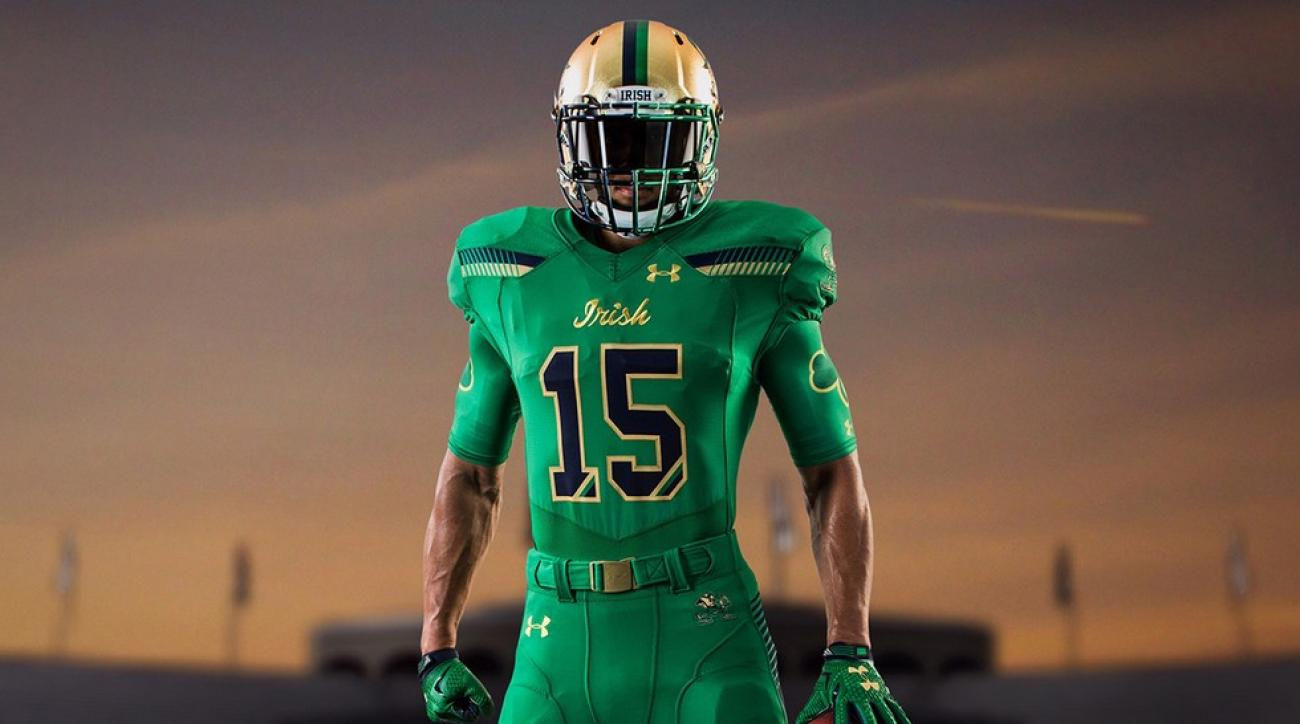 824d5fa89f1 Notre Dame's Shamrock Series jerseys a 'no-brainer' to honor Irish-American  heritage of ND and Boston