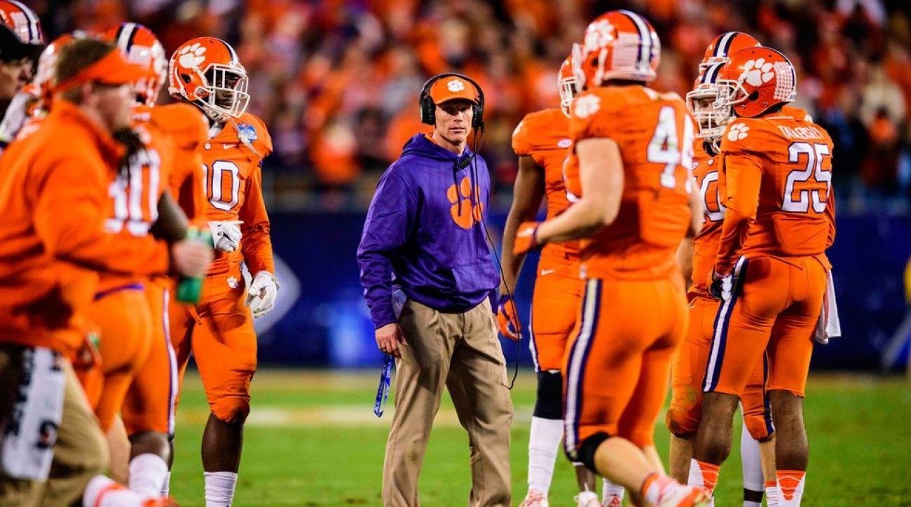 Clemson Tigers defensive coordinator Brent Venables has been