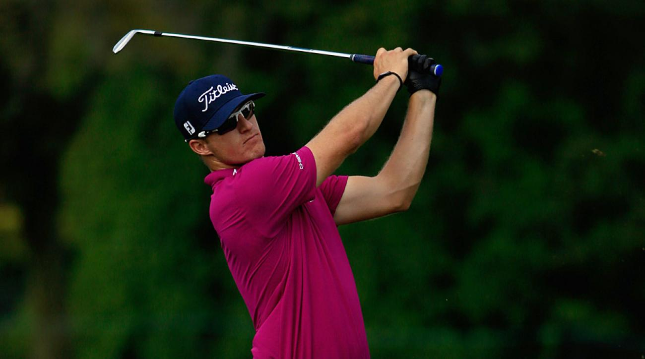 Morgan Hoffmann during the first round at Bay Hill.
