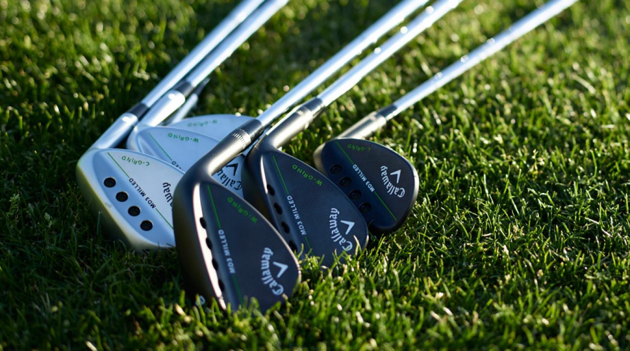 Callaway MD3 Milled wedges come in C-Grind and W-Grind versions.