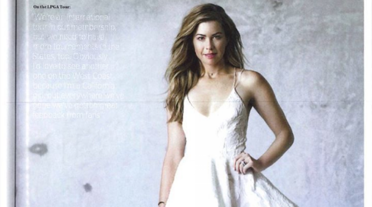 Paula Creamer was on the cover of Women's Golf Journal.