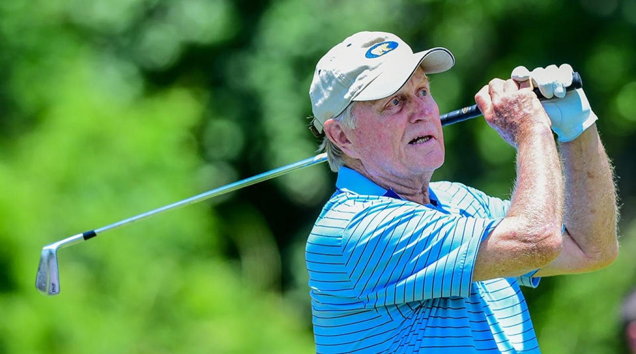 Jack Nicklaus, 76, was one of the 13 original inductees into the World Golf Hall of Fame.