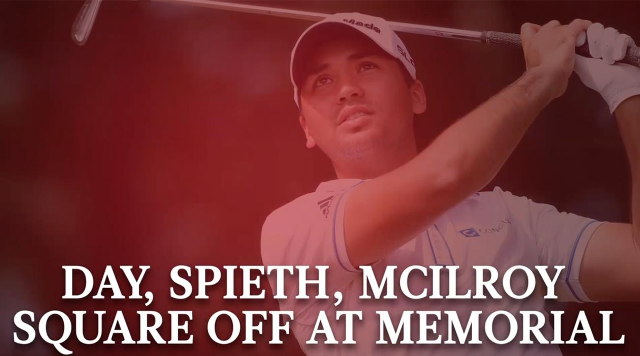 Jason Day, Jordan Spieth and Rory McIlroy to Square Off at Memorial