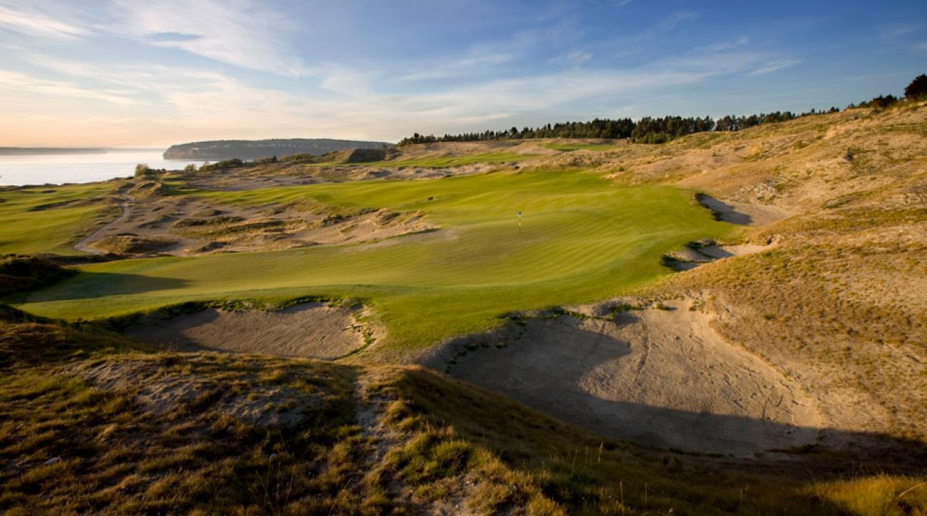 Jones designed links-style Chambers Bay to play firm and fast, with the idea of forcing players to get creative with their shotmaking.