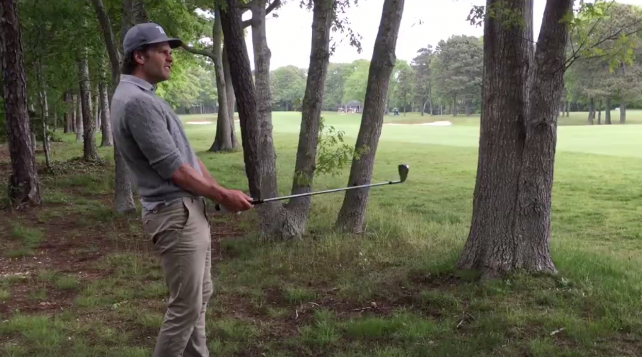 When Tom Brady comes calling on the golf course, he might mean it more literally than Jordan Spieth thought.