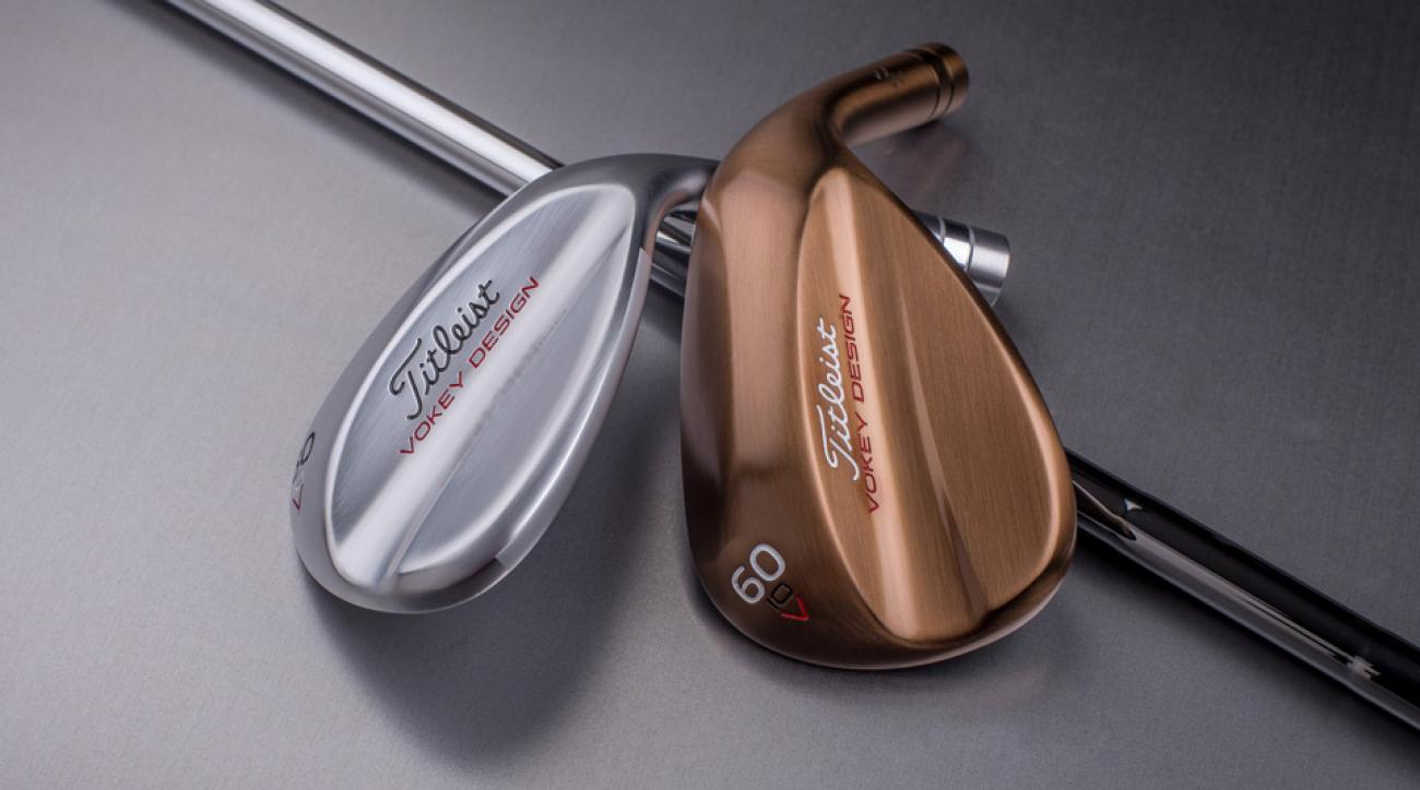 The new Titleist Vokey Design V Grind wedges.