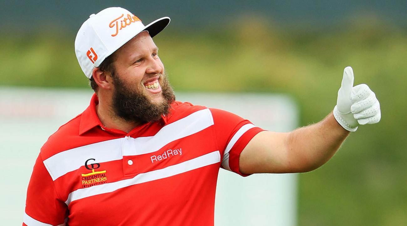 Andrew Johnston of England walks across a green during a practice round prior to the U.S. Open at Oakmont Country Club on June 15, 2016 in Oakmont, Pennsylvania.