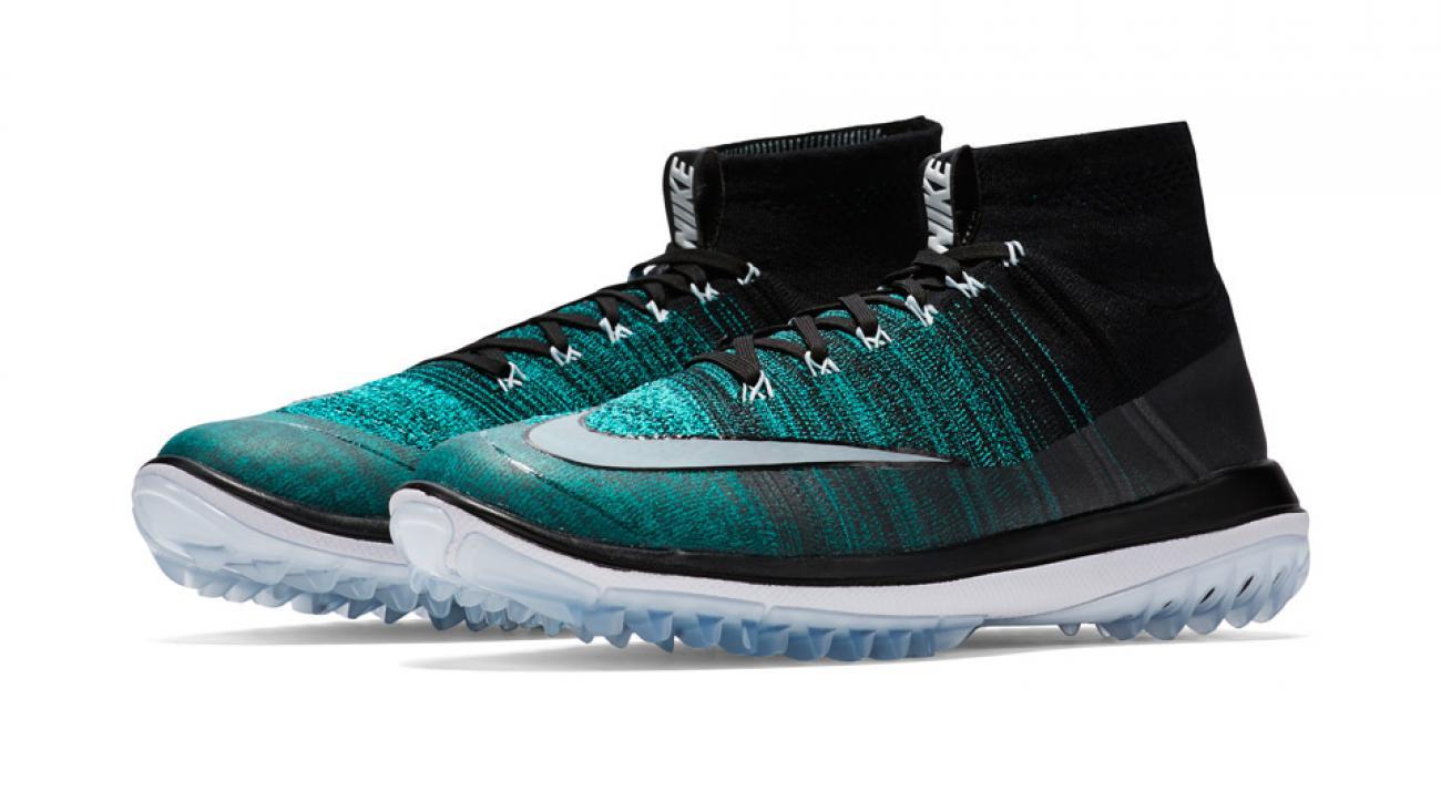 Nike's new Flyknit Elite golf shoes.