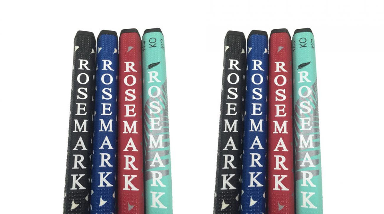 A look at some of the grip color options Rosemark offers.