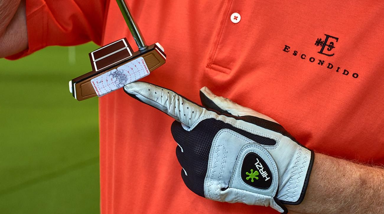 The tighter your pattern on your impact tape, the better your touch.