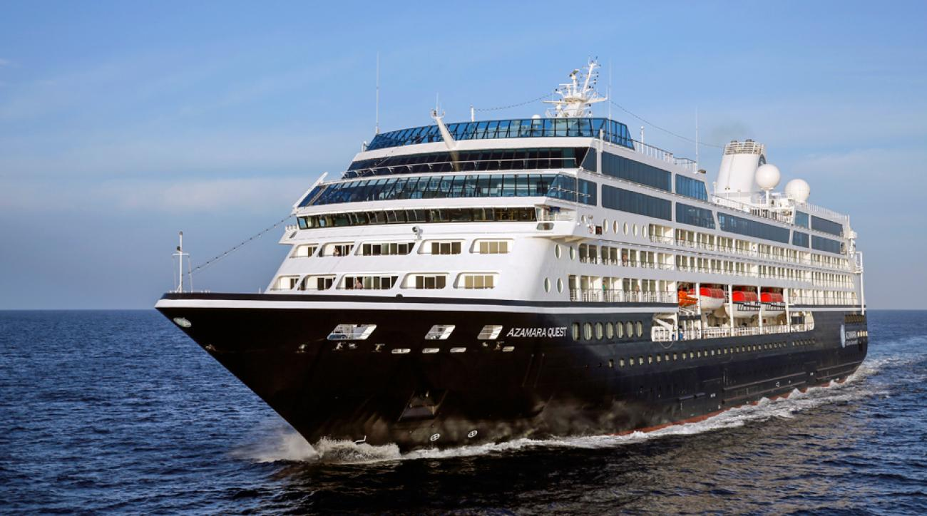 It's Open season and open air, on the Azamara Quest.